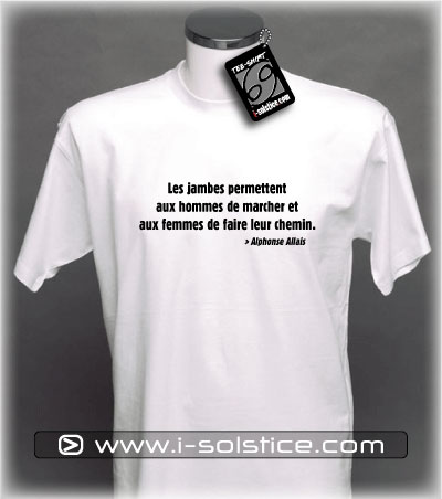 Tee-Shirt citation Alphonse Allais 2